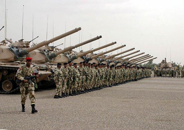 Militares bareiníes (archivo)