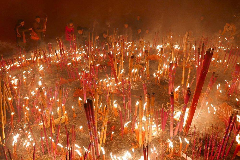 El Año Nuevo Chino: la Cabra de Madera da paso al Mono de Fuego