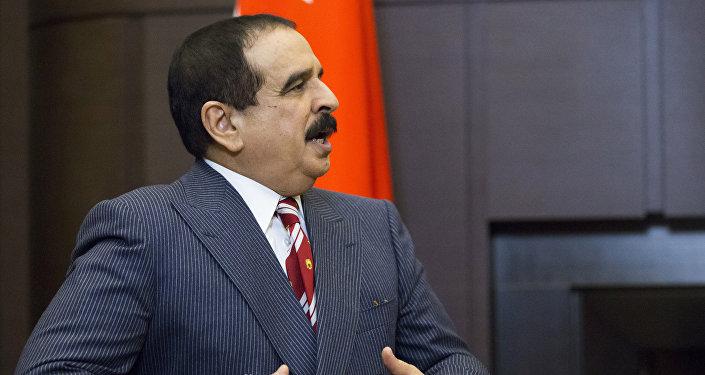 Hamad  Jalifa, rey de Bahréin