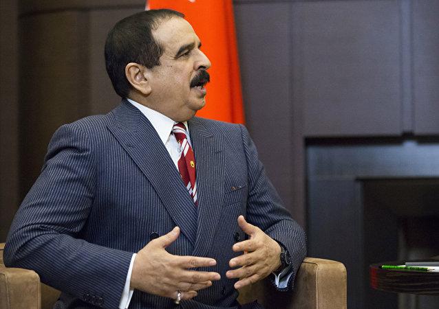 Hamad al Jalifa, rey de Bahréin