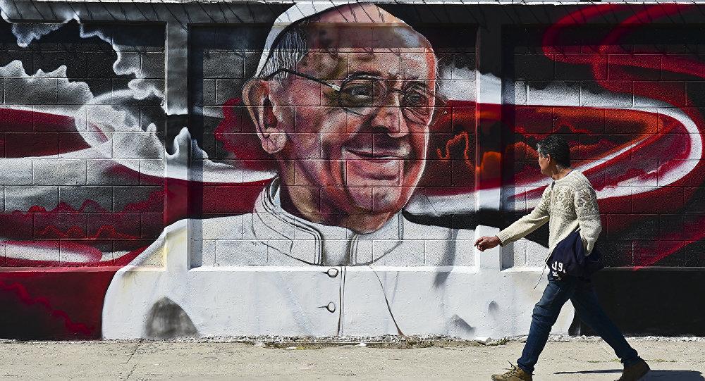 Imagen de Papa Francisco en México