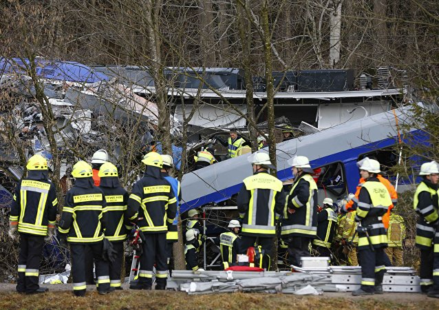 Consecuencias del choque de trenes en Baviera