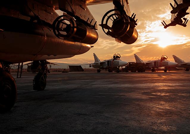 Base aérea rusa en Siria (archivo)