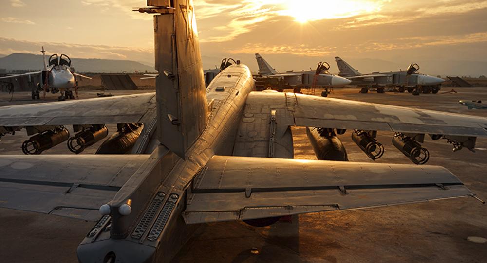 Fuerzas Aeroespacial de Rusia en la base siria Hmeymim (archivo)