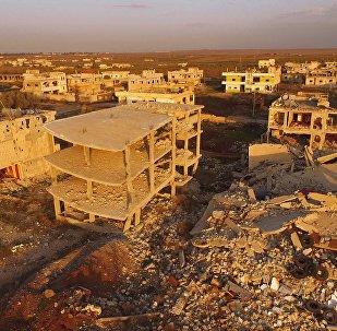 La ciudad de Osman en Siria liberado de terroristas