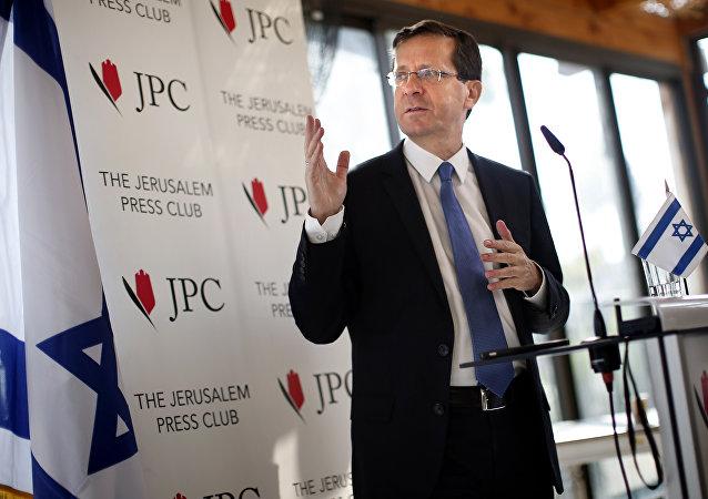 Isaac Herzog, líder de la oposición israelí