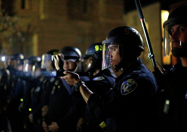 Policía de Ferguson (Archivo)