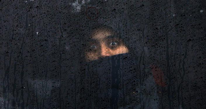 Una refugiada en Eslovenia