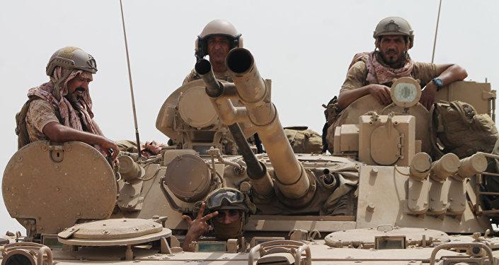 Militares saudíes (archivo)