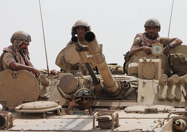 Militares saudíes