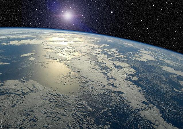 Horizonte de la Tierra