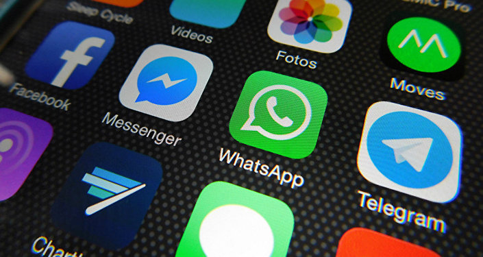 Aplicaciones de Whatsapp, Facebook Messenger, Telegram