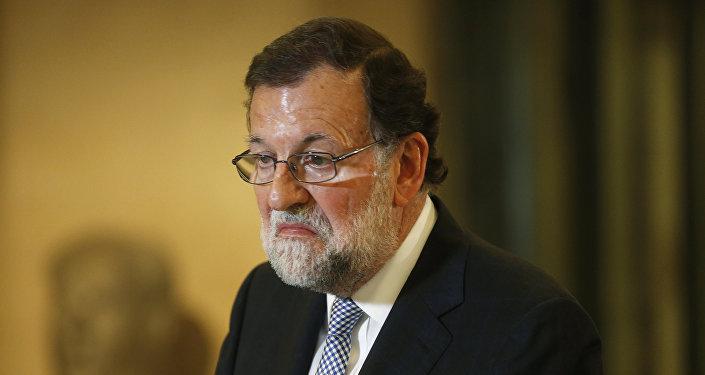 Mariano Rajoy, líder del conservador Partido Popular (PP)