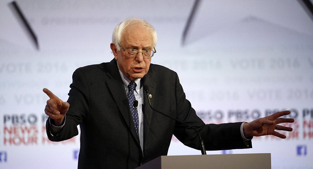 Bernie Sanders,  excandidato demócrata a la presidencia de EEUU