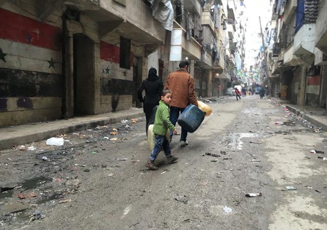 La ciudad siria de Noubel tras 4 años de asedio