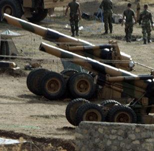Artillería turca (Archivo)