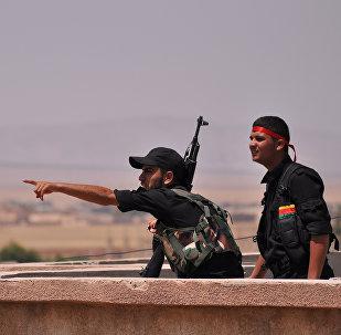 Kurdos sirios de YPG