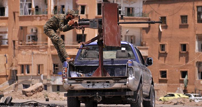 Unidades kurdas de Protección Popular (YPG)