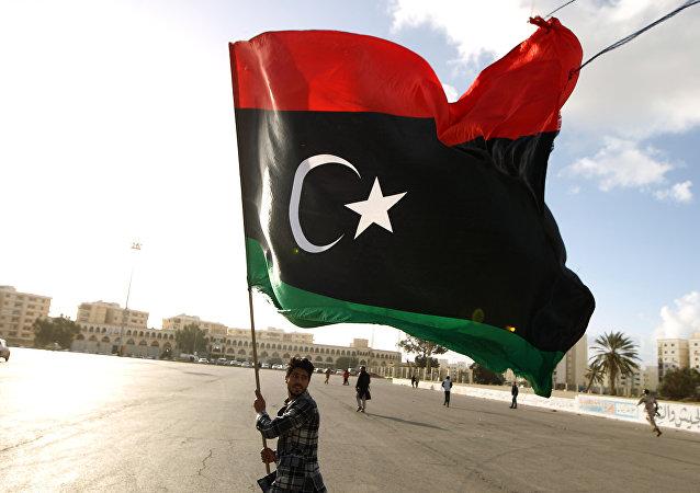 Bandera de Libia (archivo)