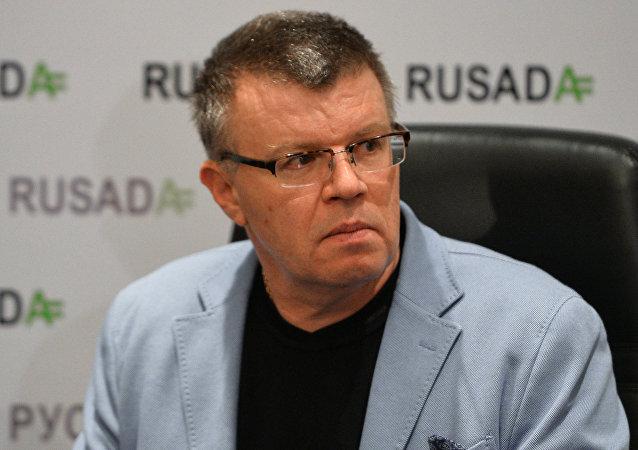 Nikita Kamáev, ex director ejecutivo de la Agencia Antidopaje de Rusia (Rusada)