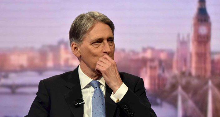 Philip Hammond, el canciller británico