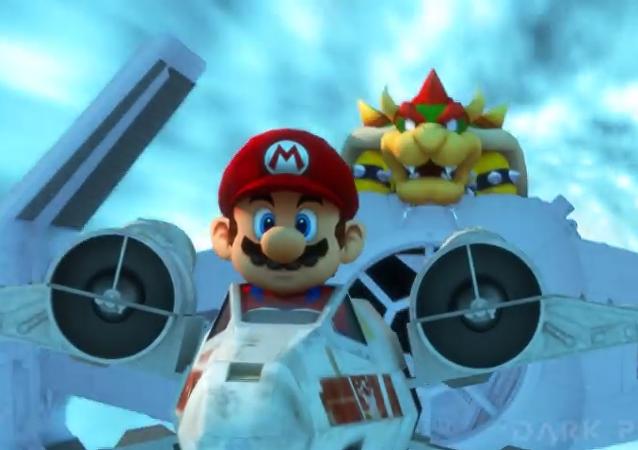 Star Kart: Mario Bros protagoniza el universo de Star Wars