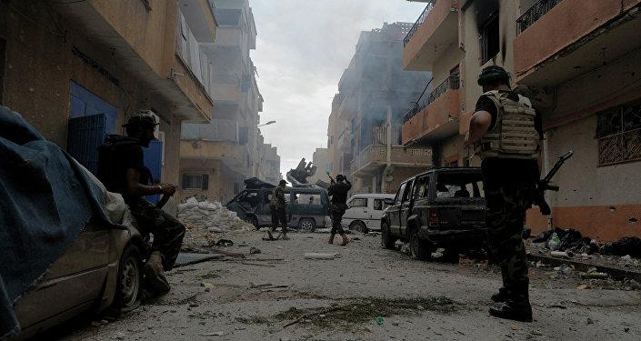 Los soldados de Libia
