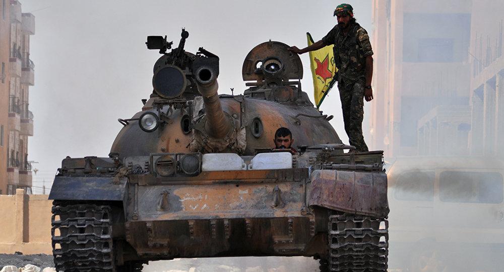 Los kurdos sirios (archivo)
