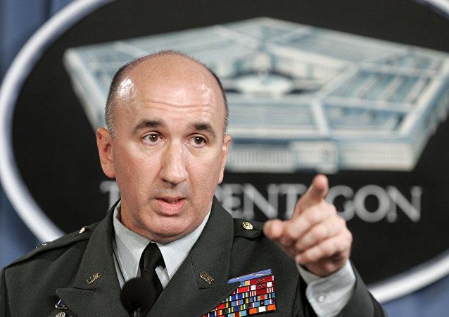 Michael Barbero, excomandante de la misión de entrenamiento de la OTAN en Irak (archivo)