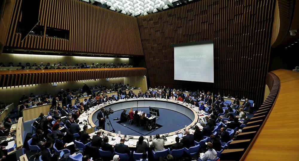 La cumbre de la Organización Mundial de Salud en Ginebra (archivo)