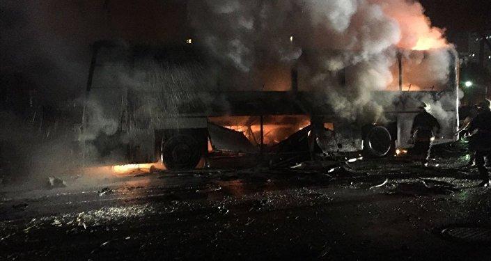 Explosión en Ankara, el 17 de febrero de 2016