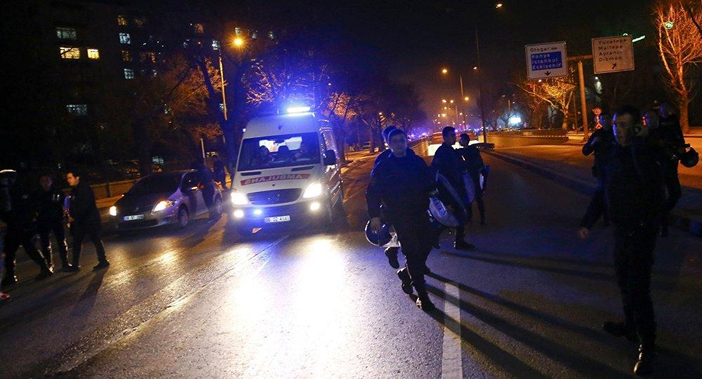 Atentado en Ankara
