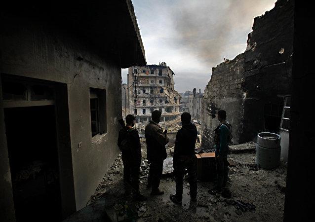 Milicianos kurdos en Siria (archivo)