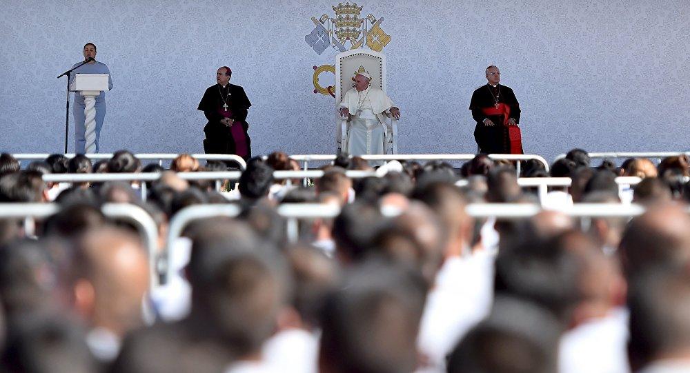 Papa Francisco visita CeReSo n. 3, penal de Juárez