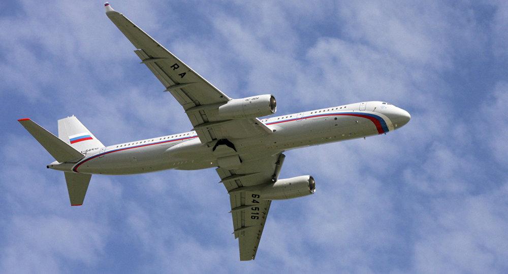 Avión ruso Tu-214