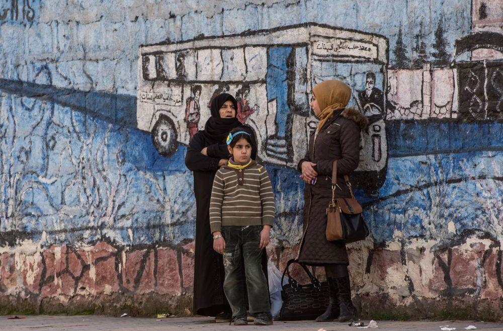 La aldea Okhrus en la provincia de Alepo, liberada de los yihadistas
