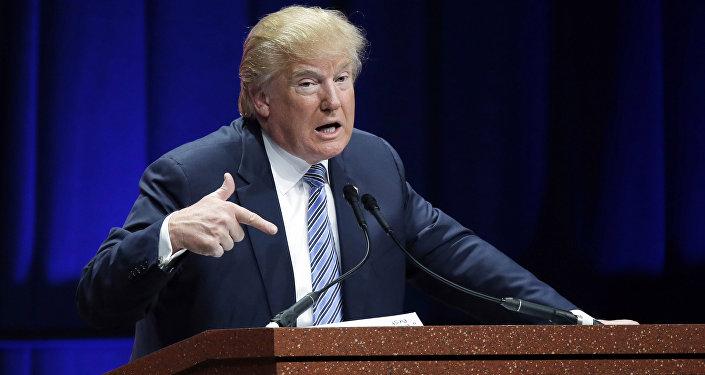 Donald Trump candidato republicano a la presidencia de EEUU