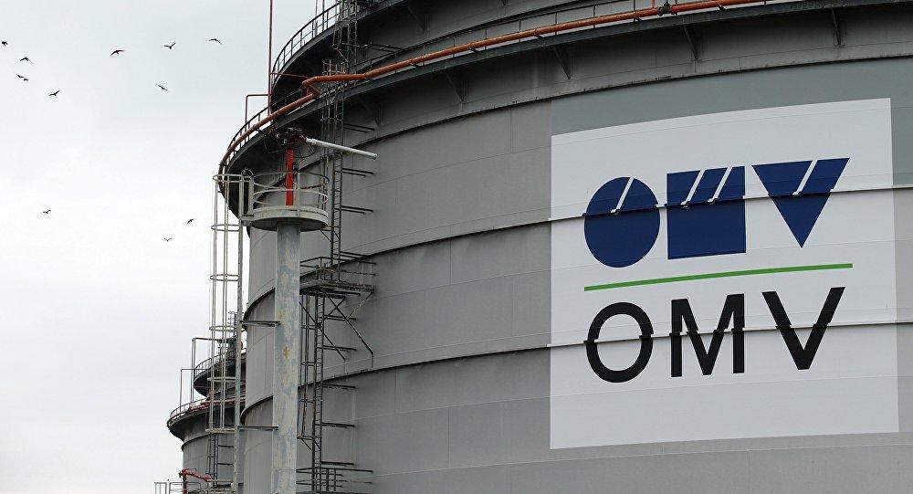 El logo de la compañía OMV
