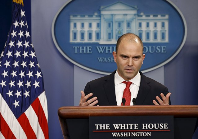 Ben Rhodes, viceasesor presidencial de EEUU