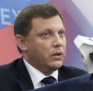 Alexandr Zajárchenko, el líder de la autoproclamada República Popular de Donetsk