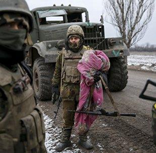 Soldados del Ejército de Ucrania (archivo)
