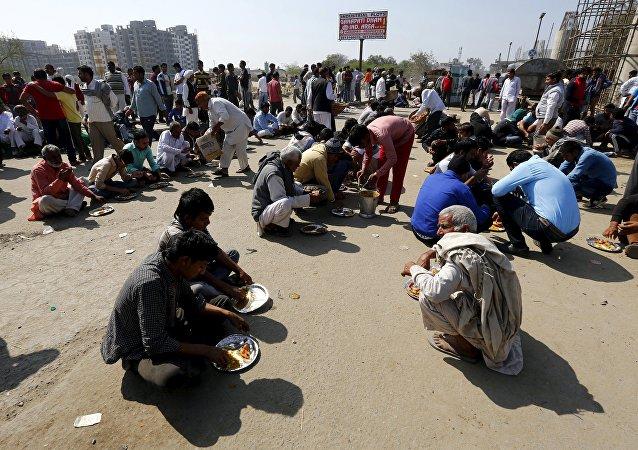 Disturbios en el estado de Haryana