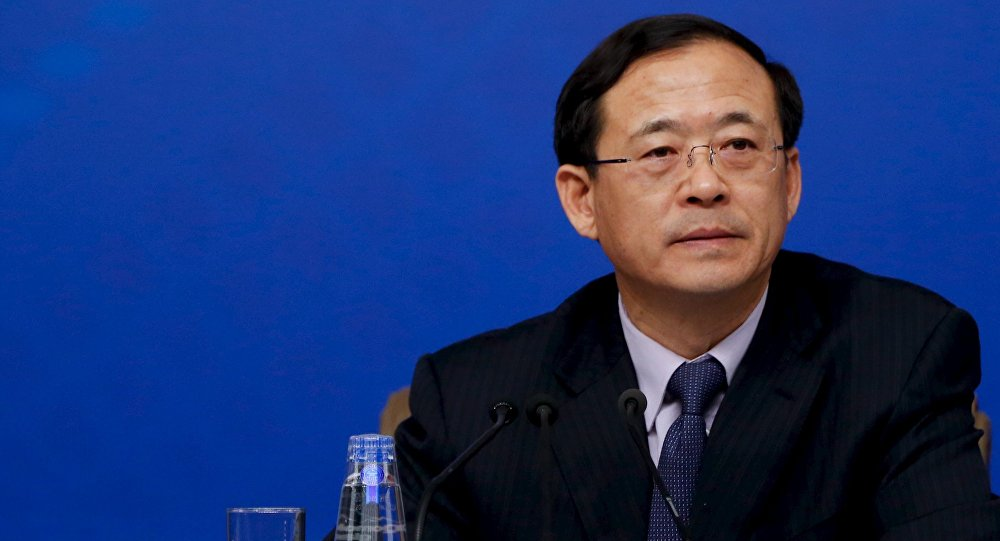 Liu Shiyu, jefe de la Comisión Reguladora de Valores de China