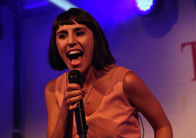 Jamala (Susana Jamaladinova), cantante de Ucrania