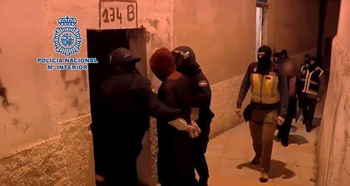 Operación antiterrorista en Ceuta (archivo)