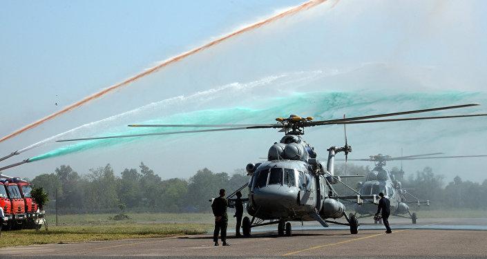 Los helicópteros rusos Mi-17V-5