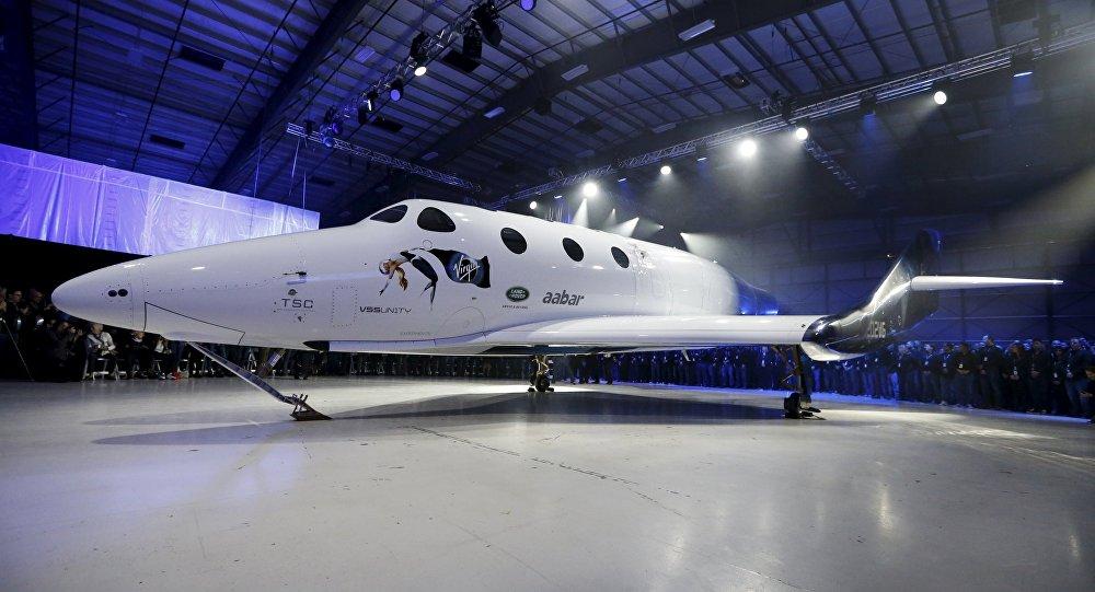 Nave suborbital SpaceShipTwo VSS Unity