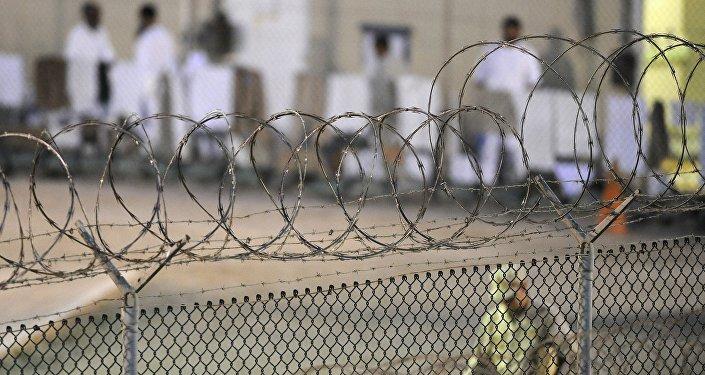 Сampo de detención de Guantánamo (archivo)