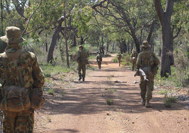 Militares australianos (archivo)