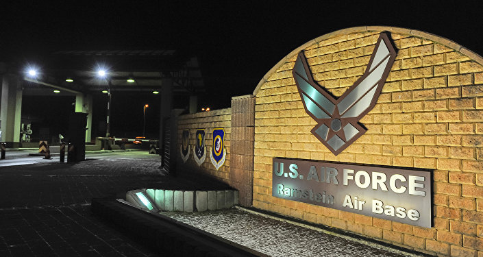 Base aérea estadounidense en Ramstein, Alemania